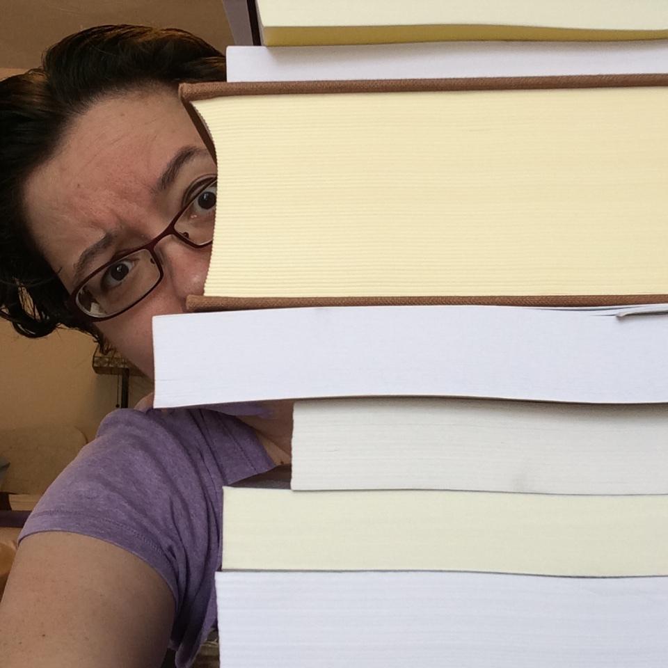 Graduate school is aaaaaall about the books.