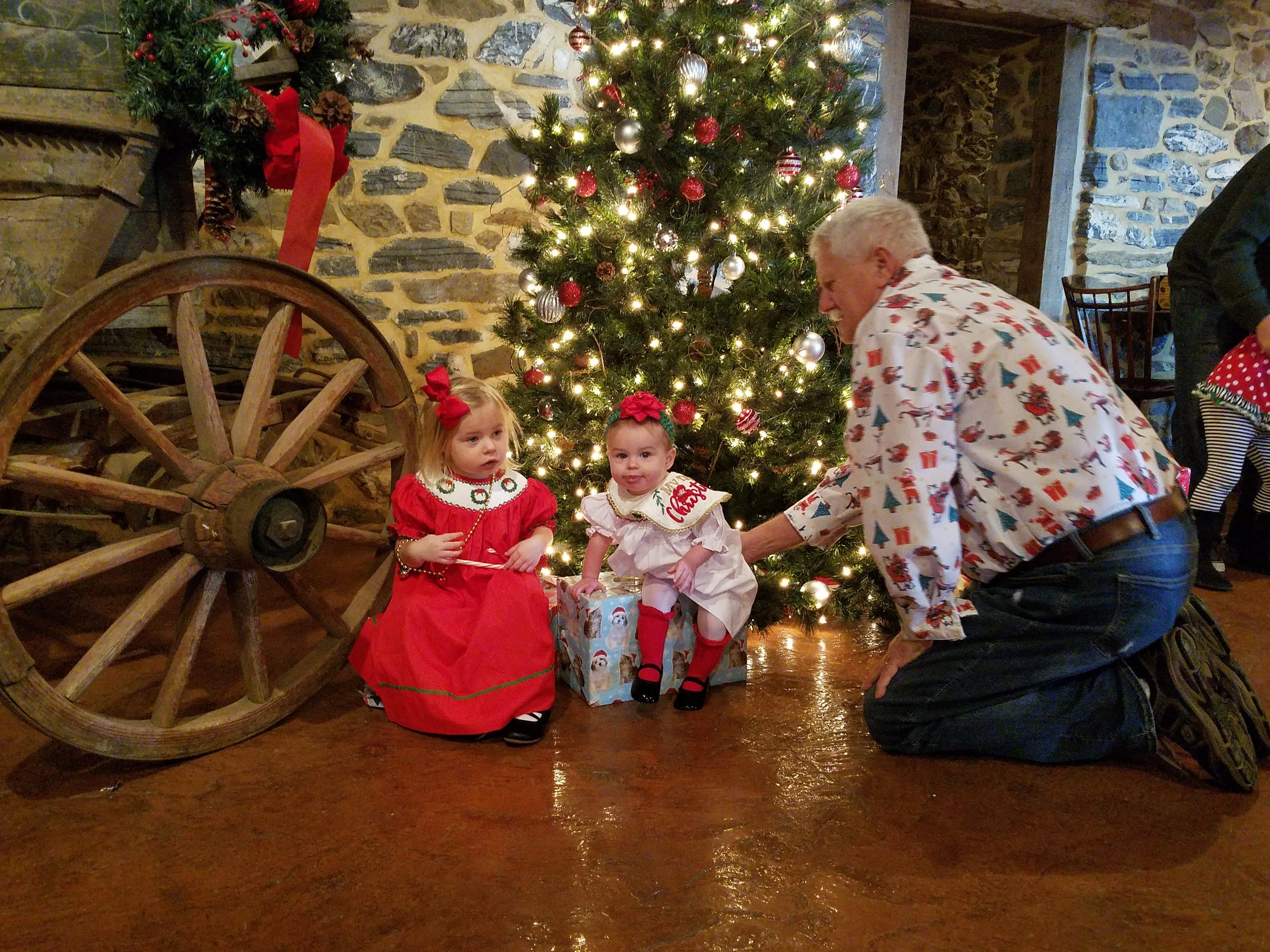 Join us for our annual Breakfast with Santa at Country Barn; Lancaster County's Family Fun Farm!
