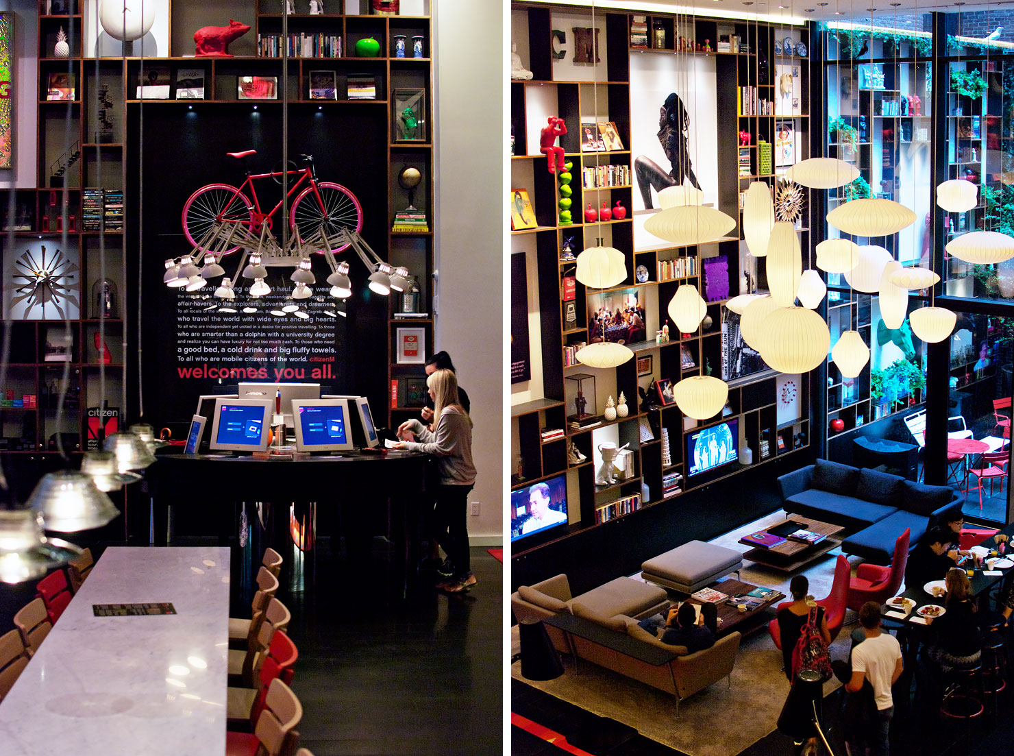 citizenM, photographed by urbanpixxles