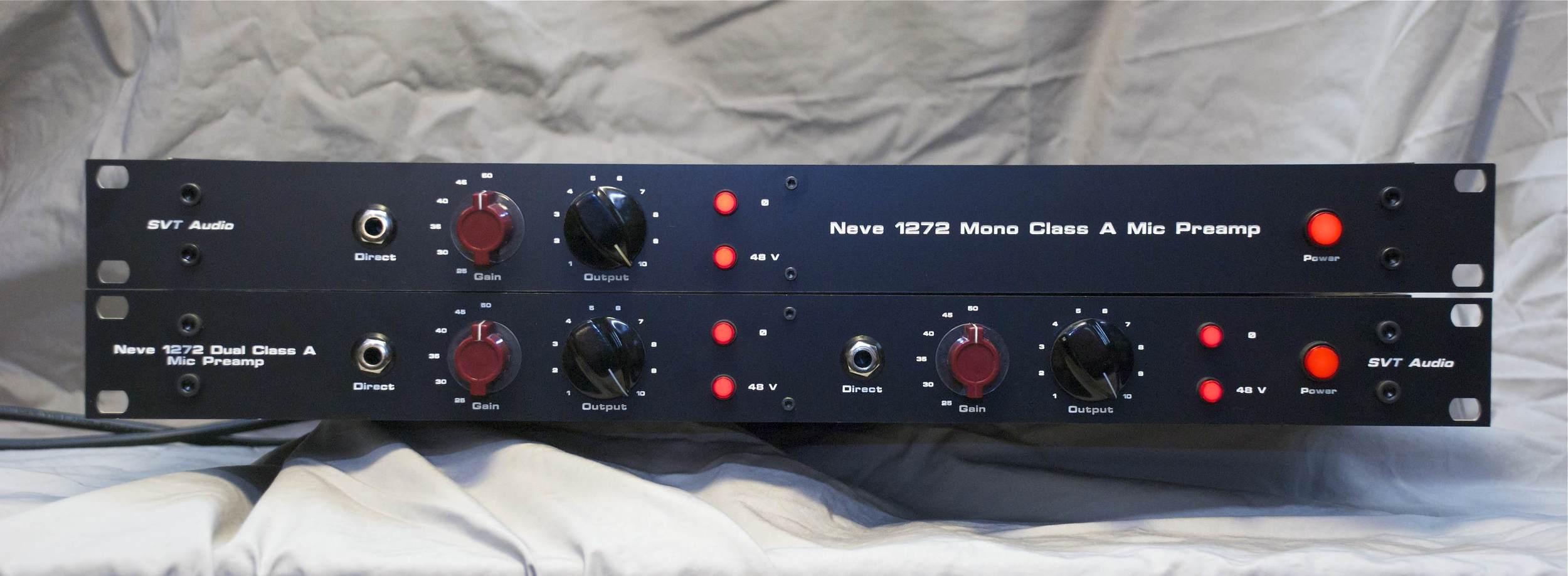 Neve 1272 Mono Class A Mic Preamp — SVT Audio