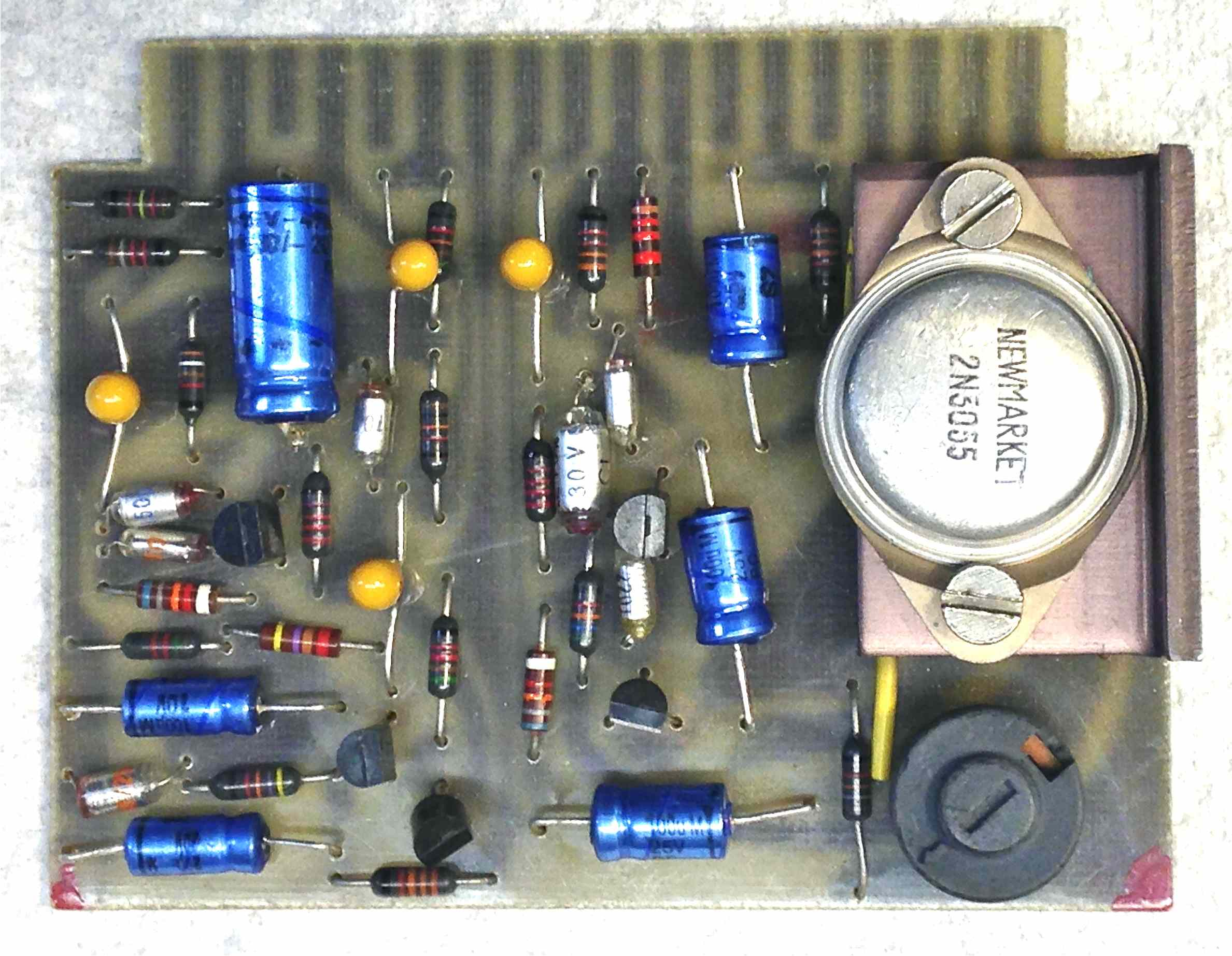 Neve 1272 Dual Class A Mic Preamp — SVT Audio