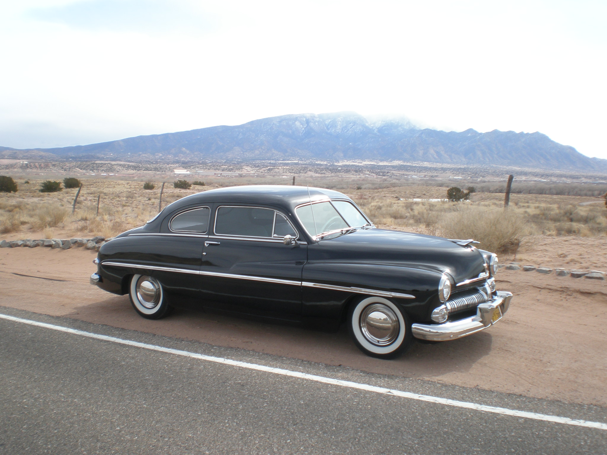 Joe's Merc sports a customr Roadrunner Engr Supercharger.jpg
