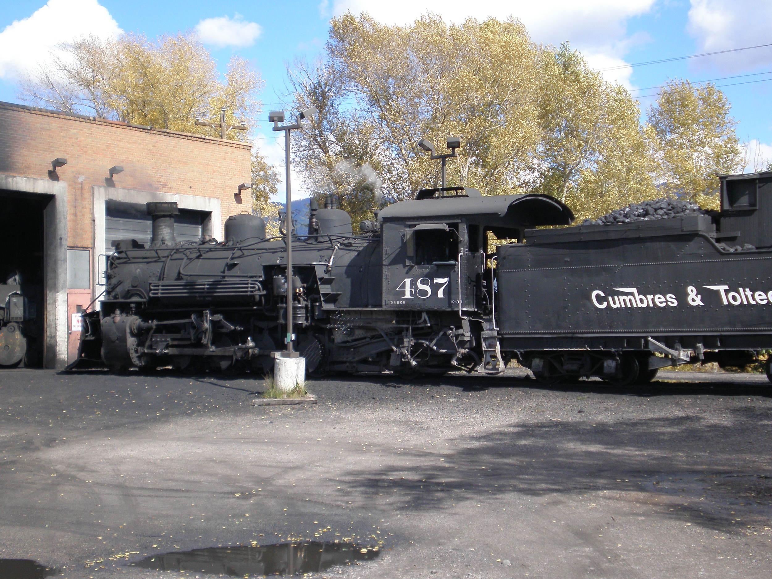 Past Tour of Cumbres Toltec Railroad