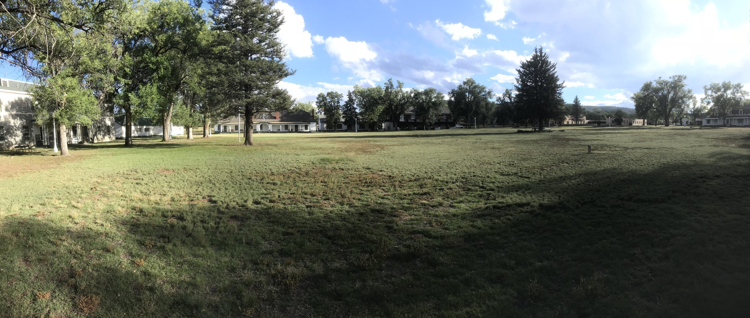 Fort Stanton Parade Ground