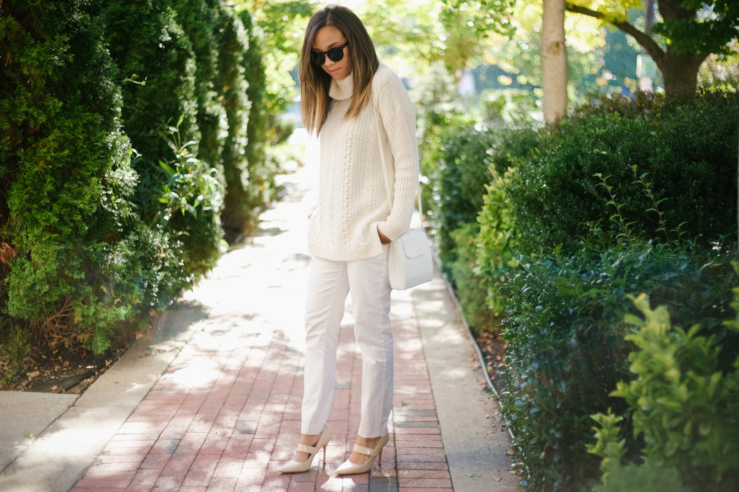 White Chunky Fall Knit Sweater2.jpg