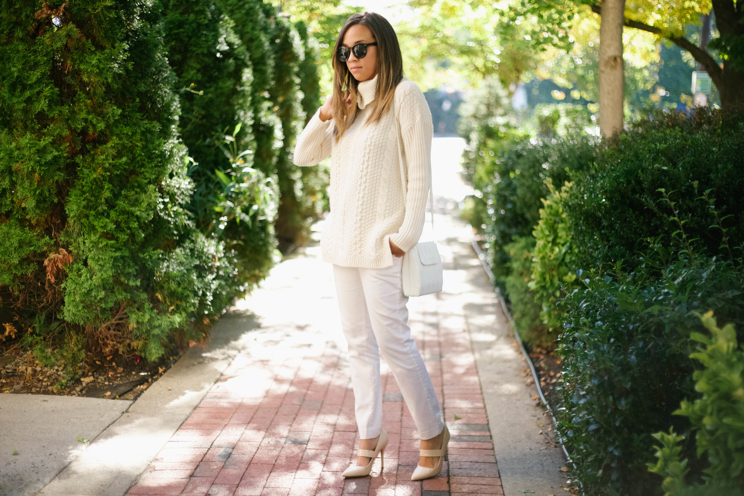 White Chunky Fall Knit Sweater4.jpg