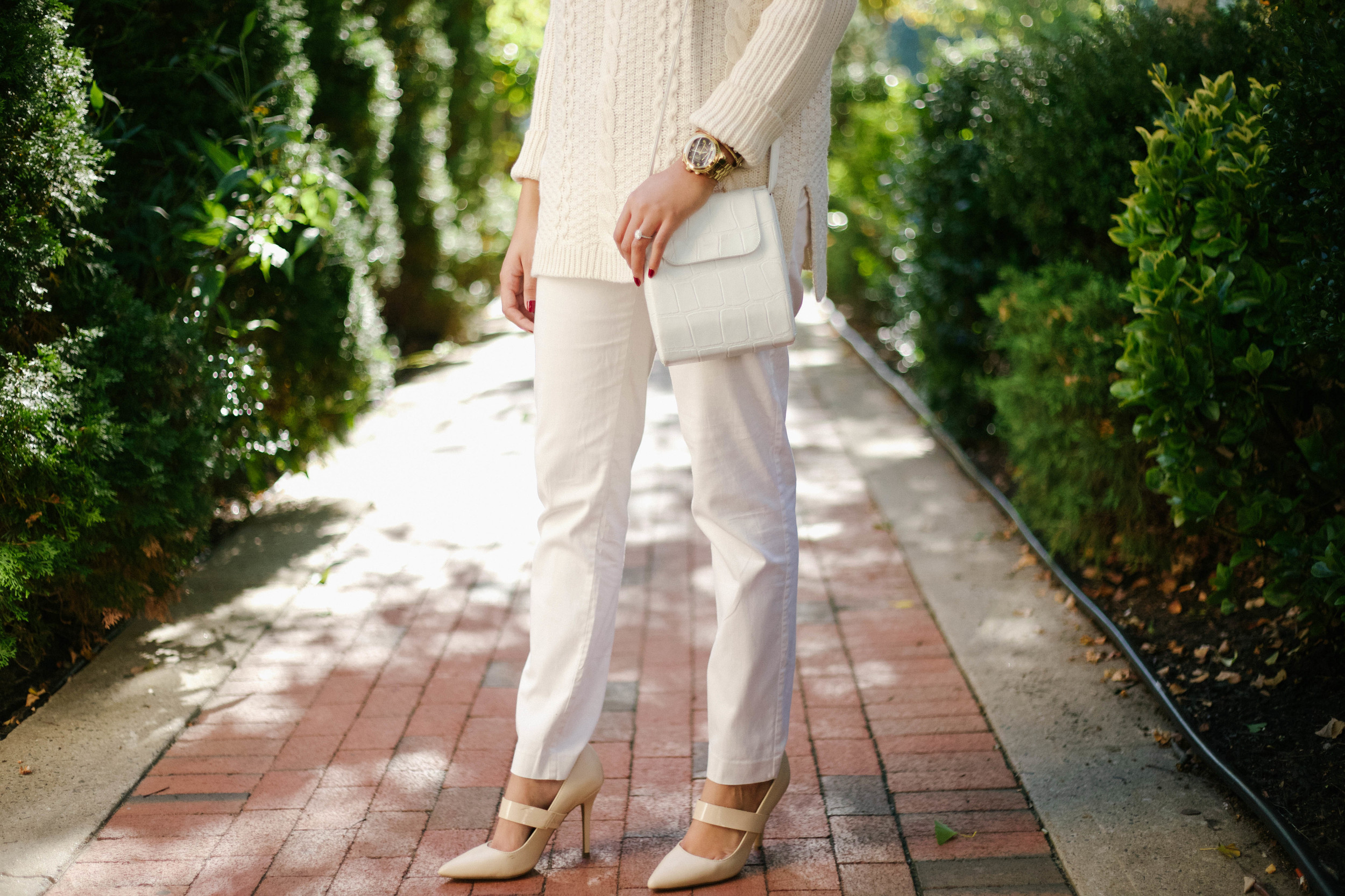 White Chunky Fall Knit Sweater6.jpg