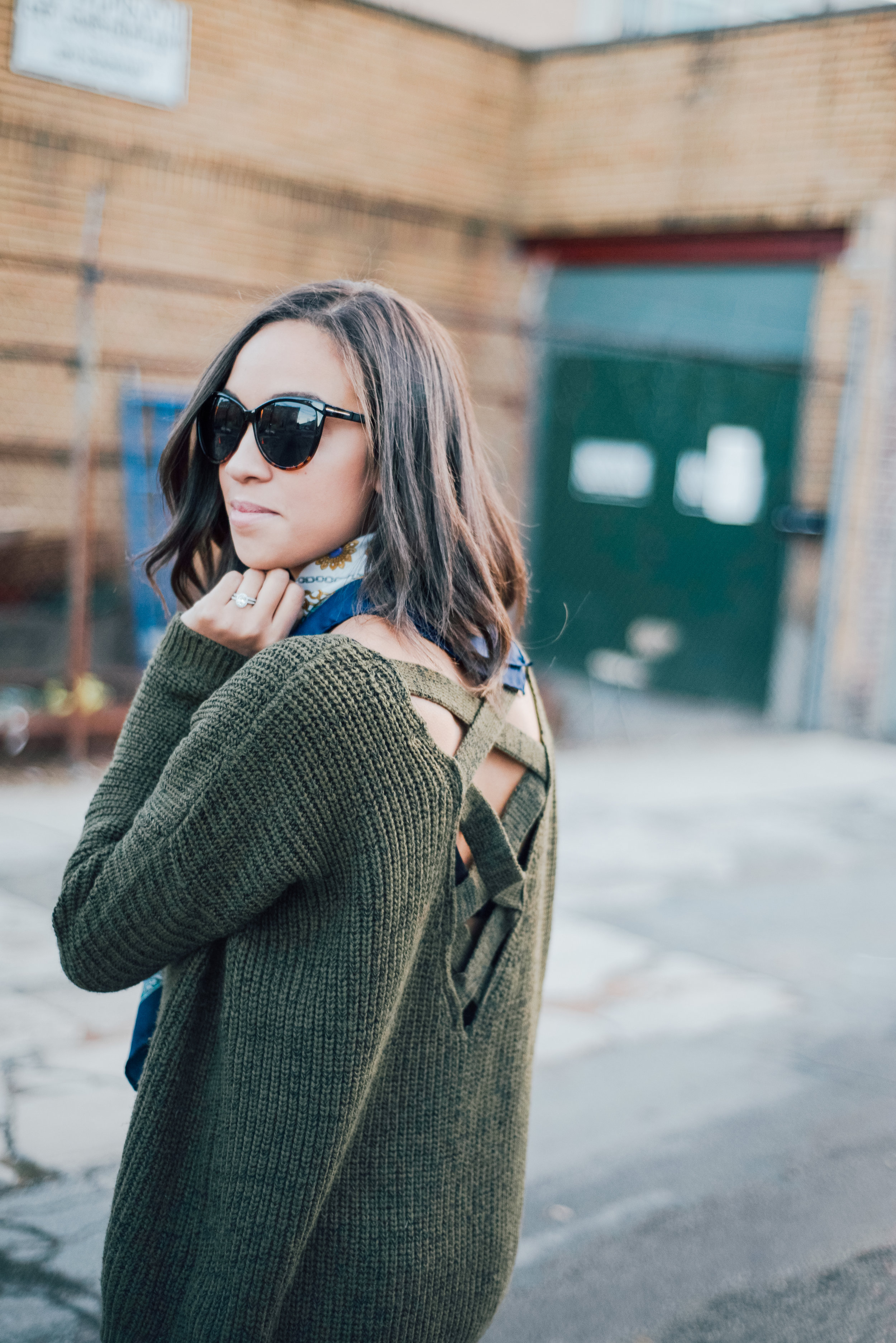 Olive Green Fall Sweater 3.jpg
