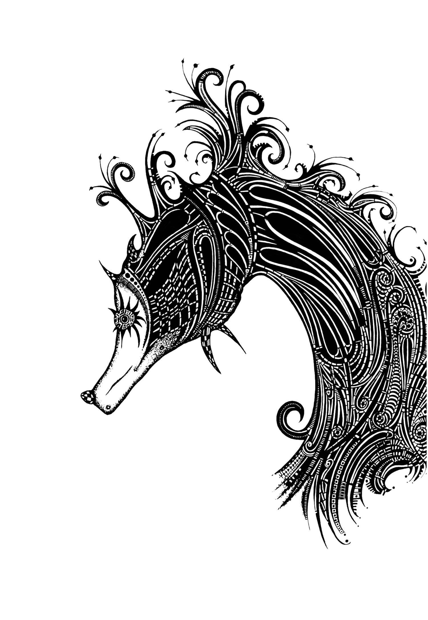 Sea Horse Fantasia - Study 1