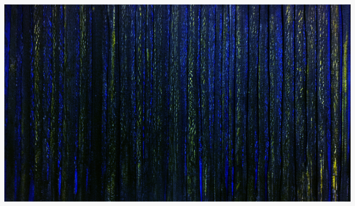 Can't see the woods for the trees   Ink on layered paper   50 cm x 70 cm   ©ANTHONY WIGGLESWORTH 2015