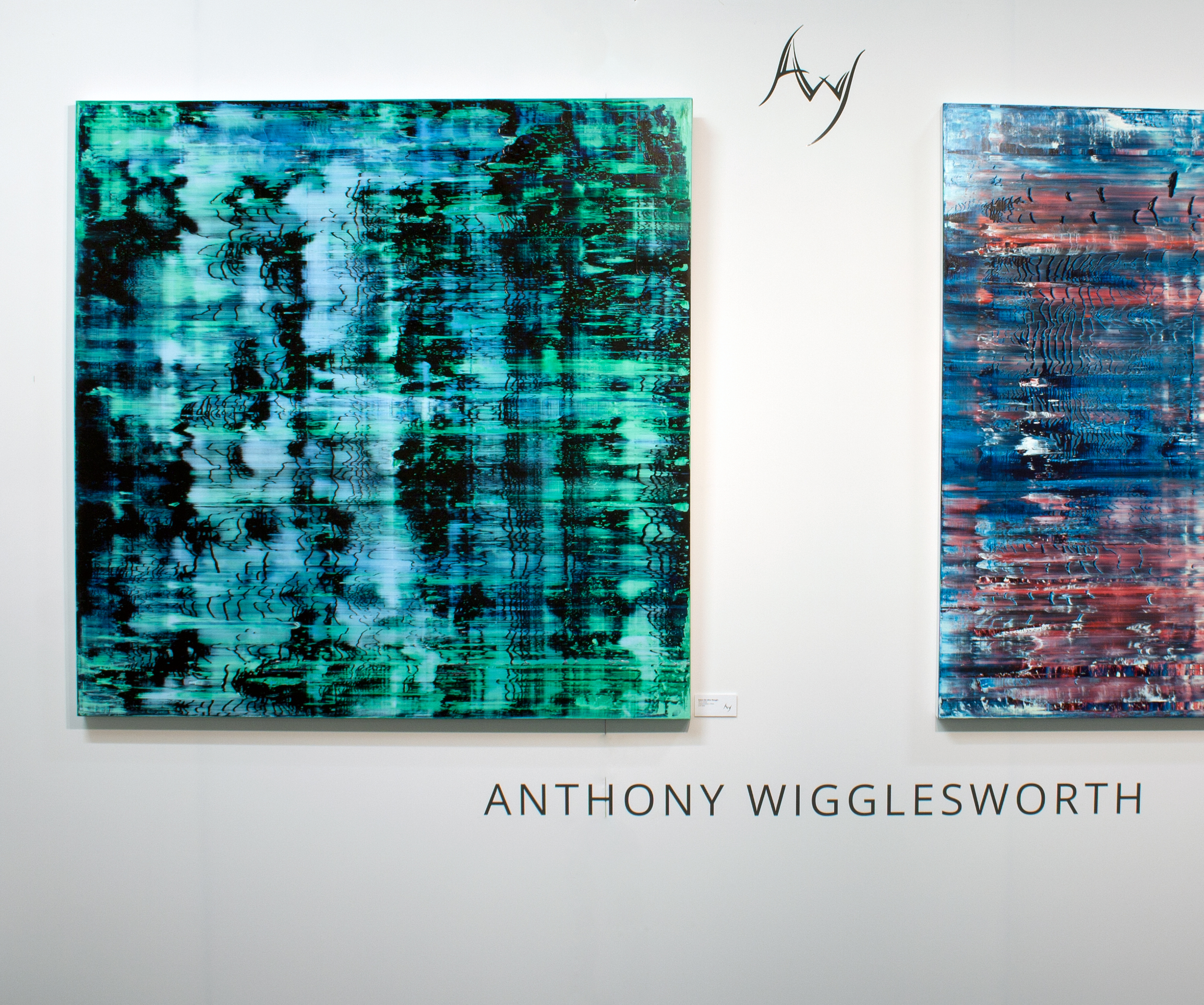 Before The After Thought   Oil on canvas 150cm x 150cm x 4.6cm © Anthony Wigglesworth - All Rights Reserved