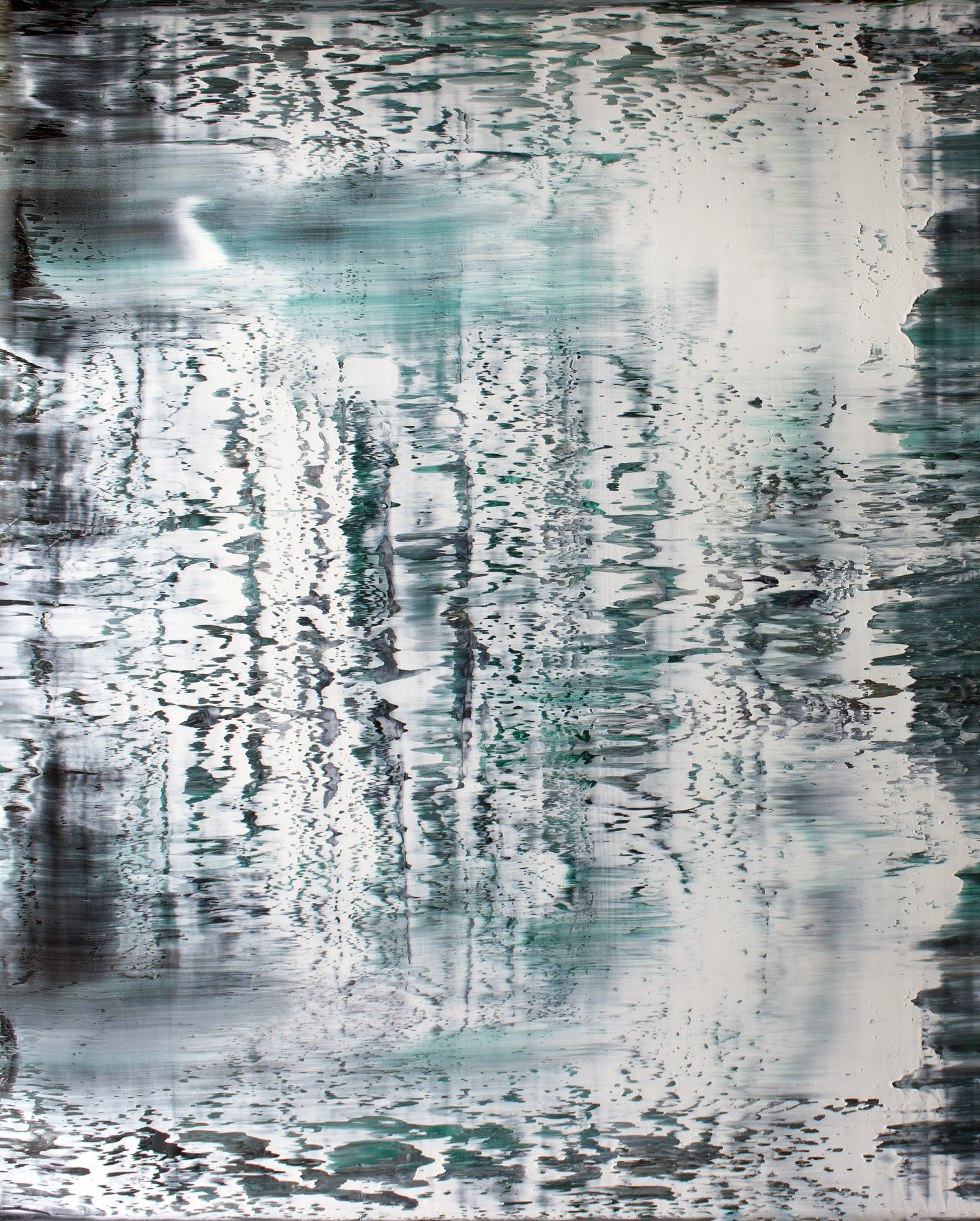 White Waters  Oil on canvas 120cm x 150cm x 4.6cm    Inquiry   © Anthony Wigglesworth - All Rights Reserved