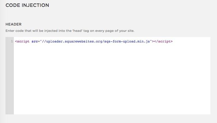Squarespace Websites Uploader