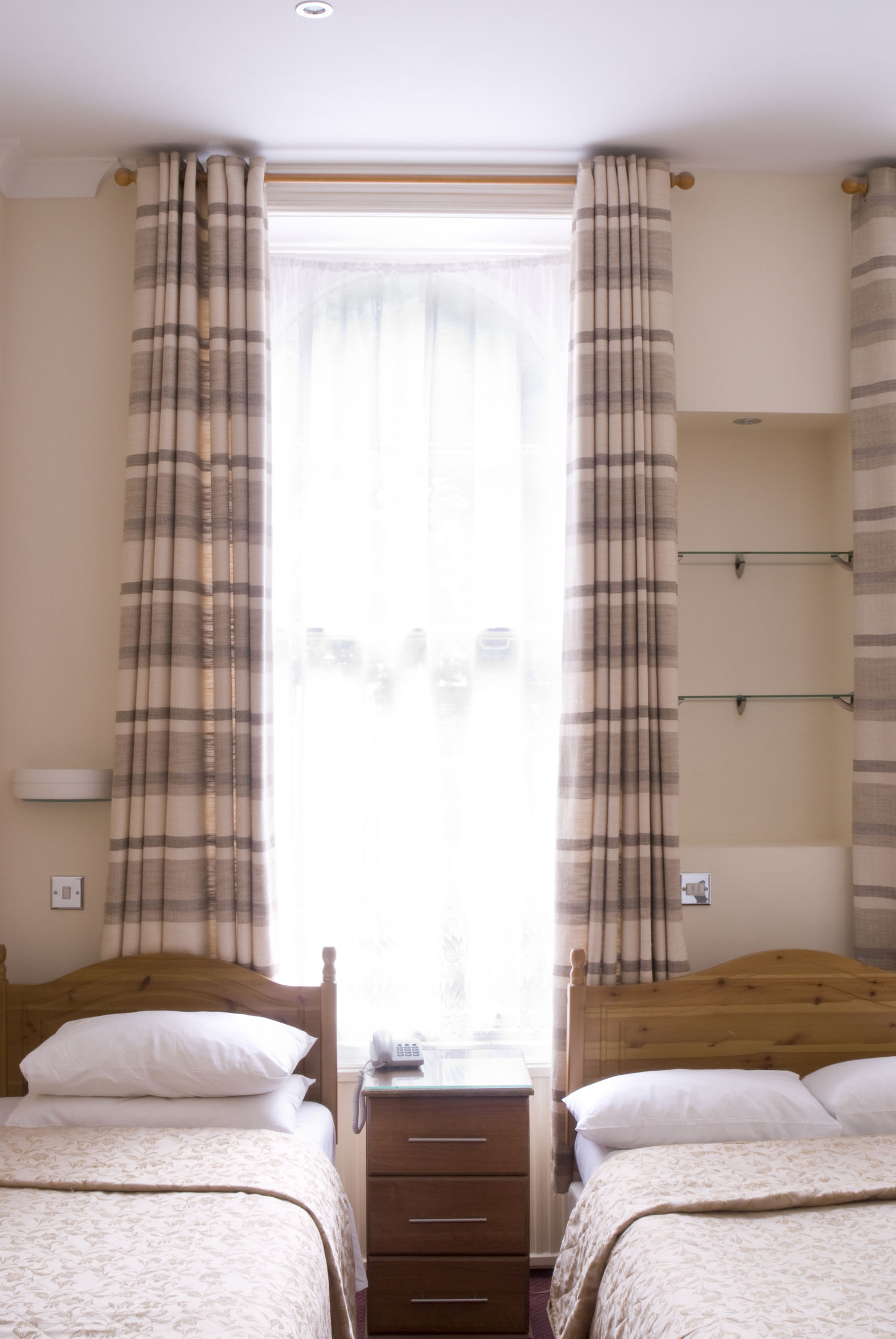 Triple Room with private bathroom   Includes one double and one single bed (sleeps up to three guests)