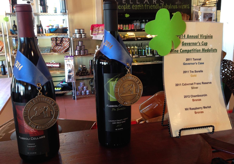 The award-winning wines of Fabbioli Cellars