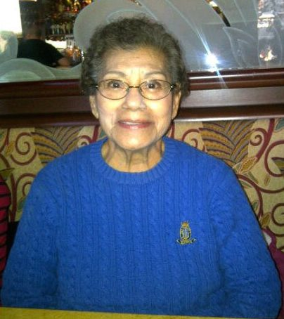 My grandmother, the bad-ass drug and alcohol counselor, Mary Lopez