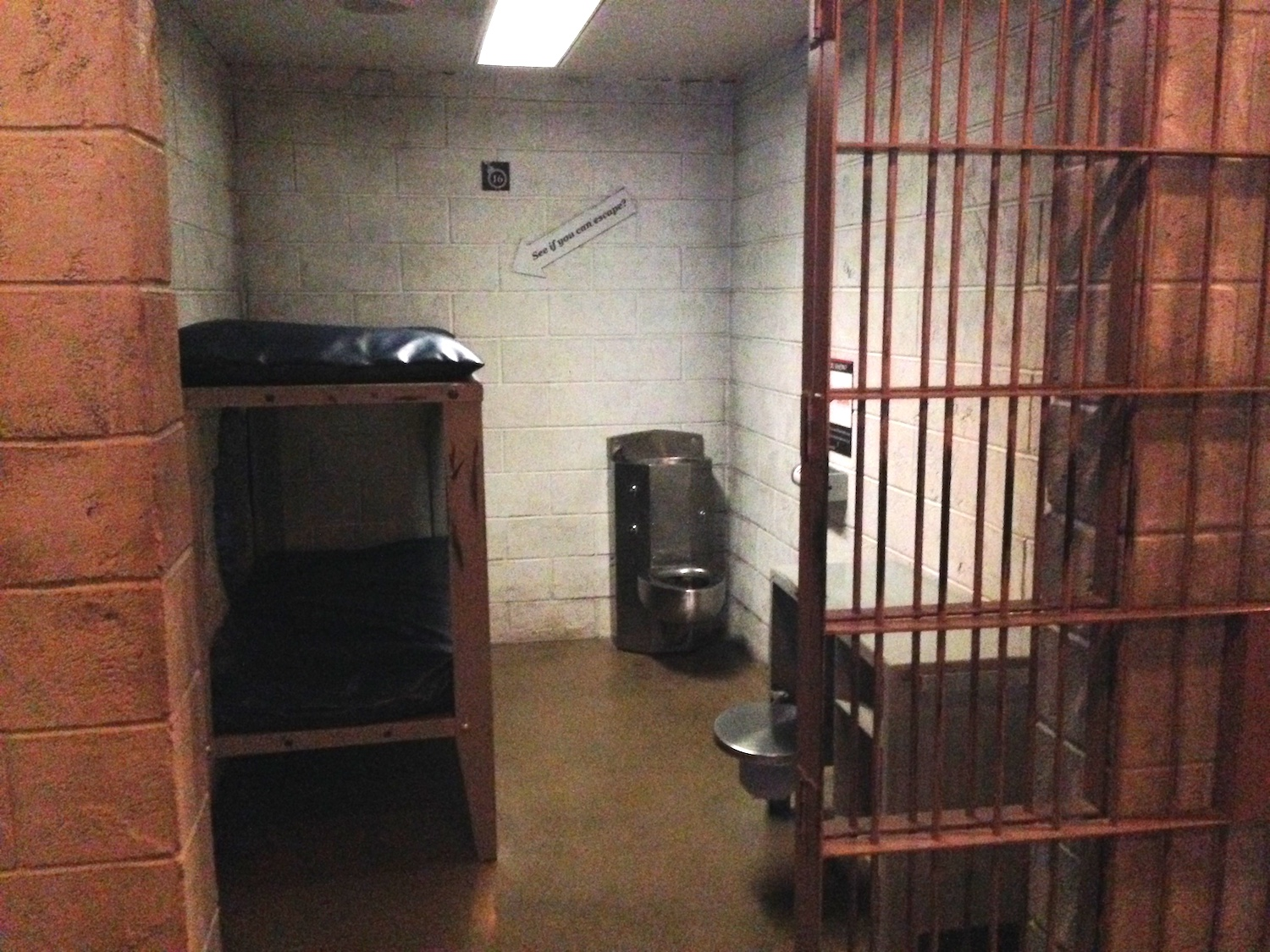 A Jail Cell