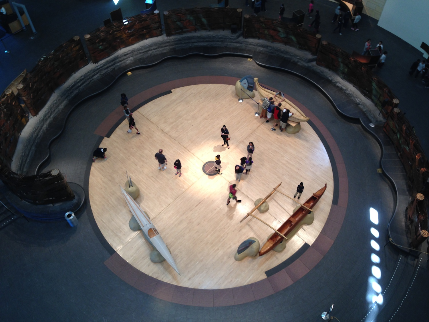 Interior of the American Indian Museum