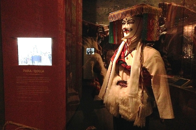 Dance Dress for Quechua People, Peru