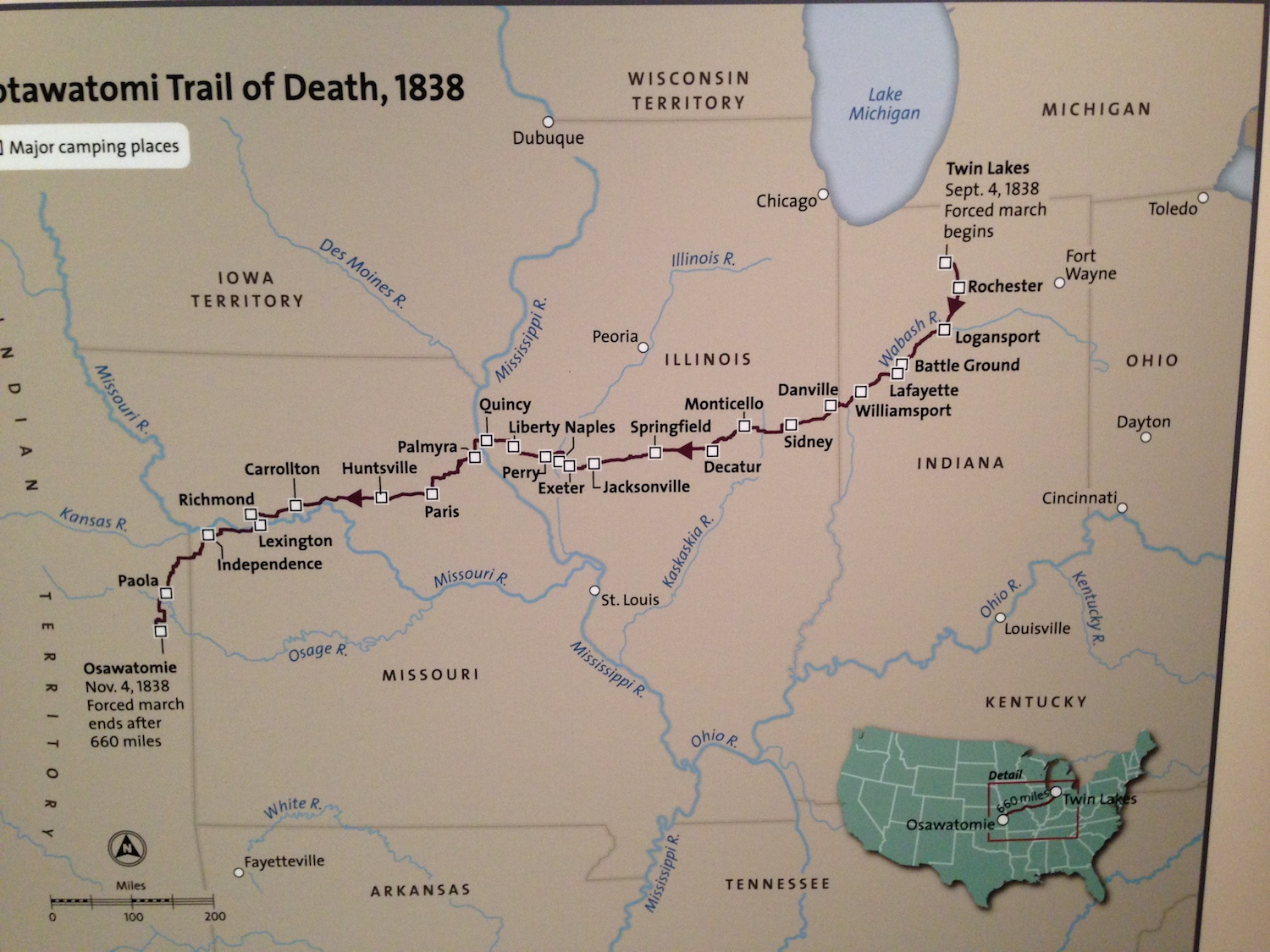 The March of the Potawatomi