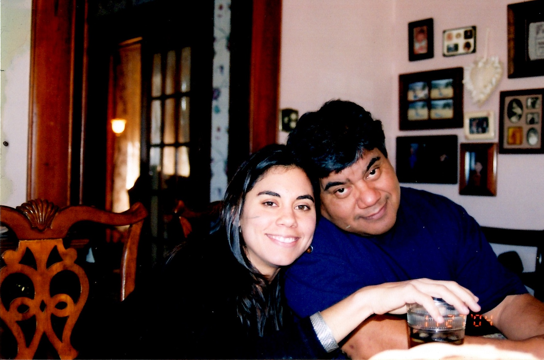 My dad and I, 2004