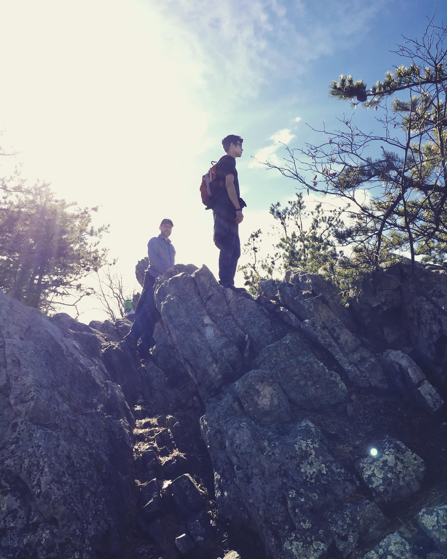 Buzzard Rock hiking trail