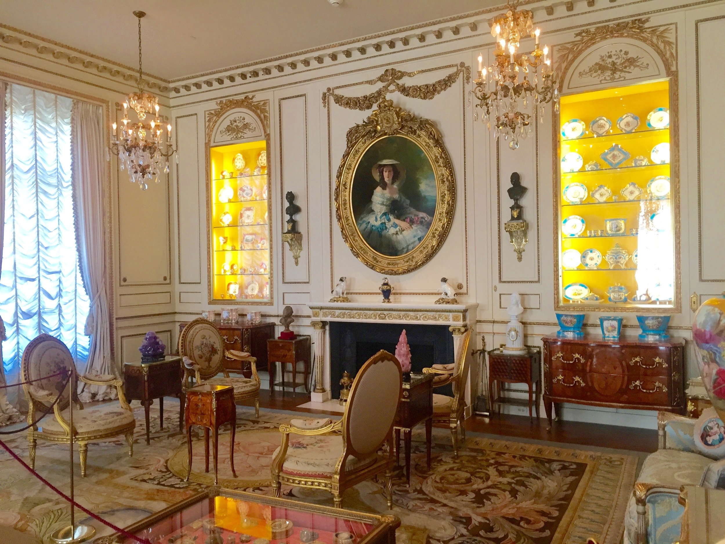 Tomorrow come celebrate the oncoming spring with  La Chandeleur or Crepe Day at Hillwood . Enjoy crepes, decorate your own version of priceless porcelain, and let me show you some of our incredible French treasures when I give a family-focused gallery talk at 10:30 and tours at 11:30 and 1:30. Come join me!