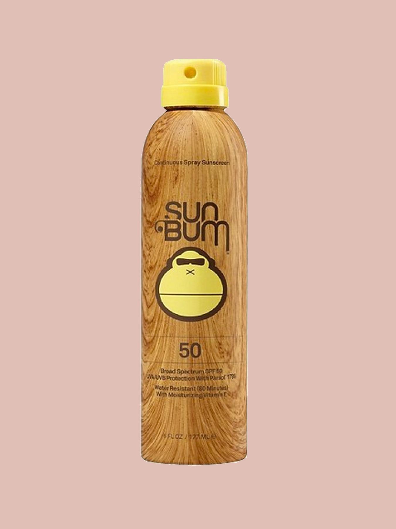 SUNSCREEN: Sun Bum SPF 50 Spray
