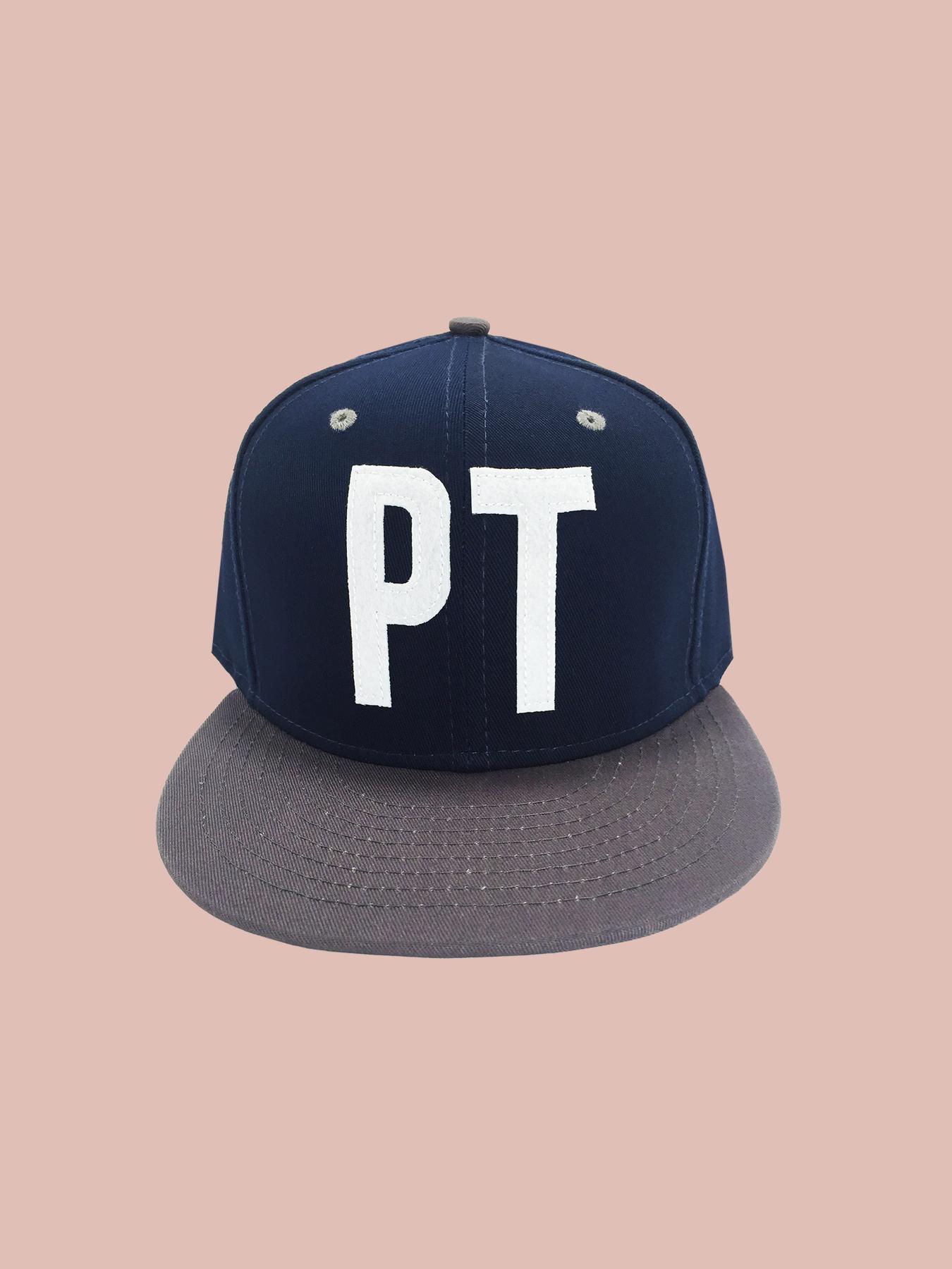 BASEBALL HAT: Navy Ptown Hat