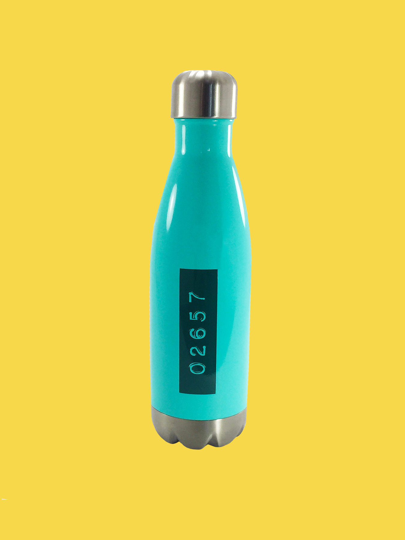 WATER BOTTLE: 02657, Turquoise