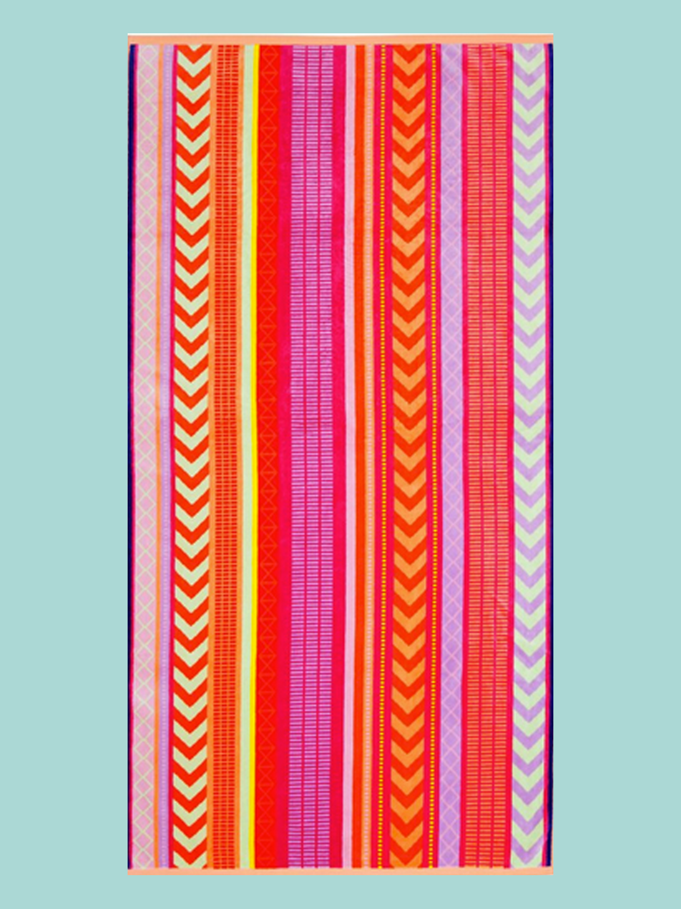 BEACH TOWEL: Striped Towel