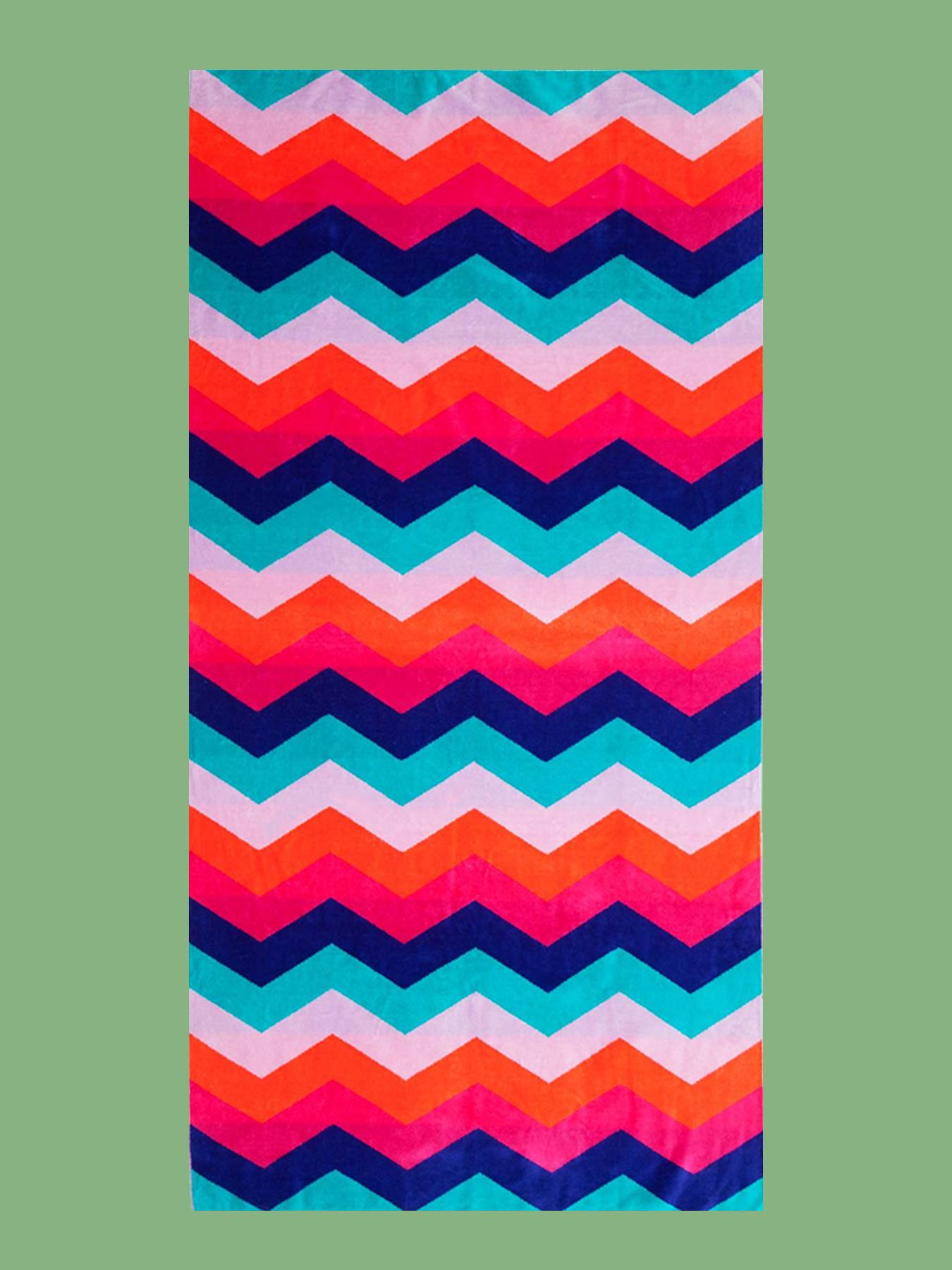 BEACH TOWEL: Zig Zag Towel