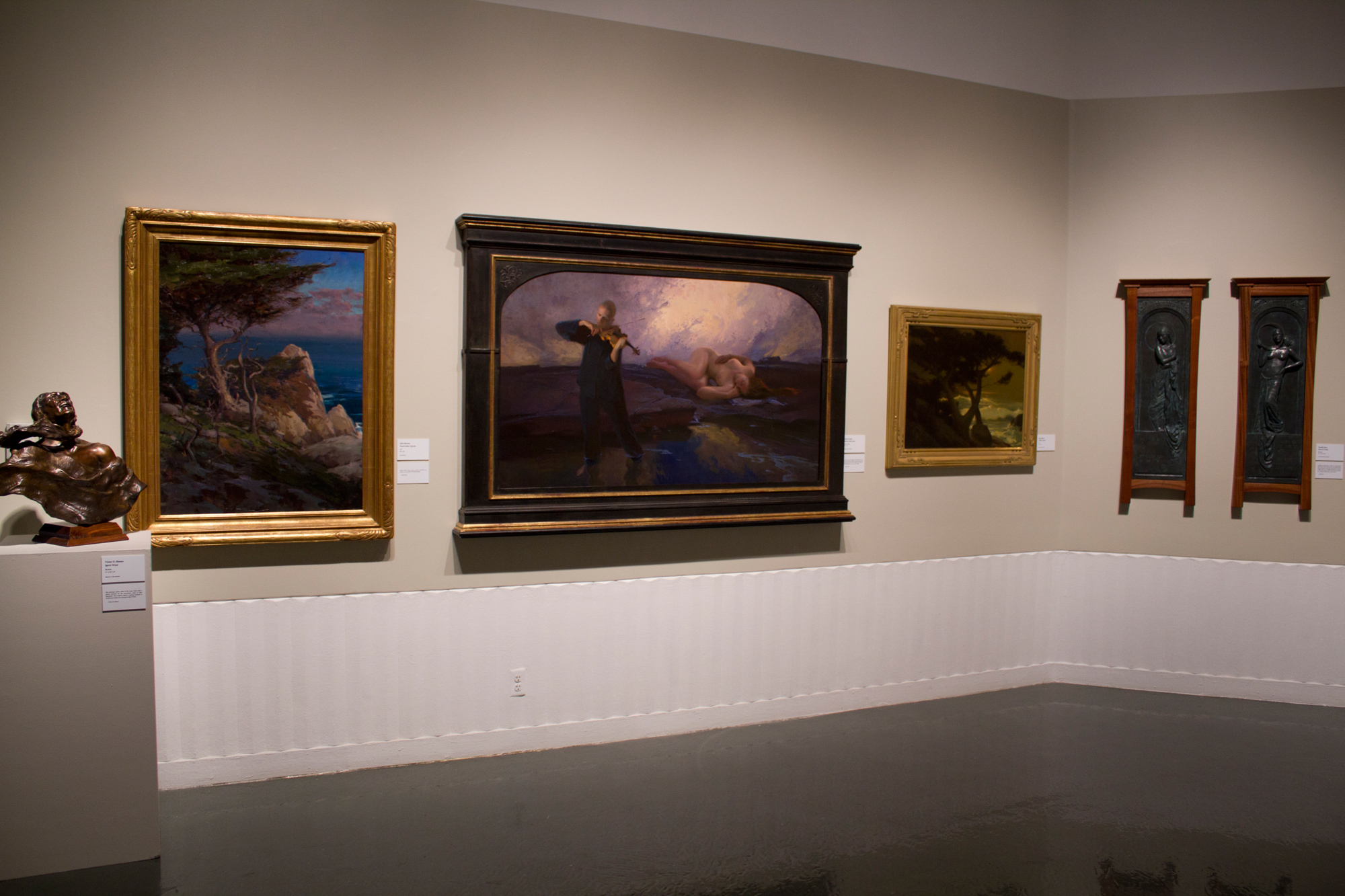 """""""Dawn & Dusk"""" shown hanging on the far right"""