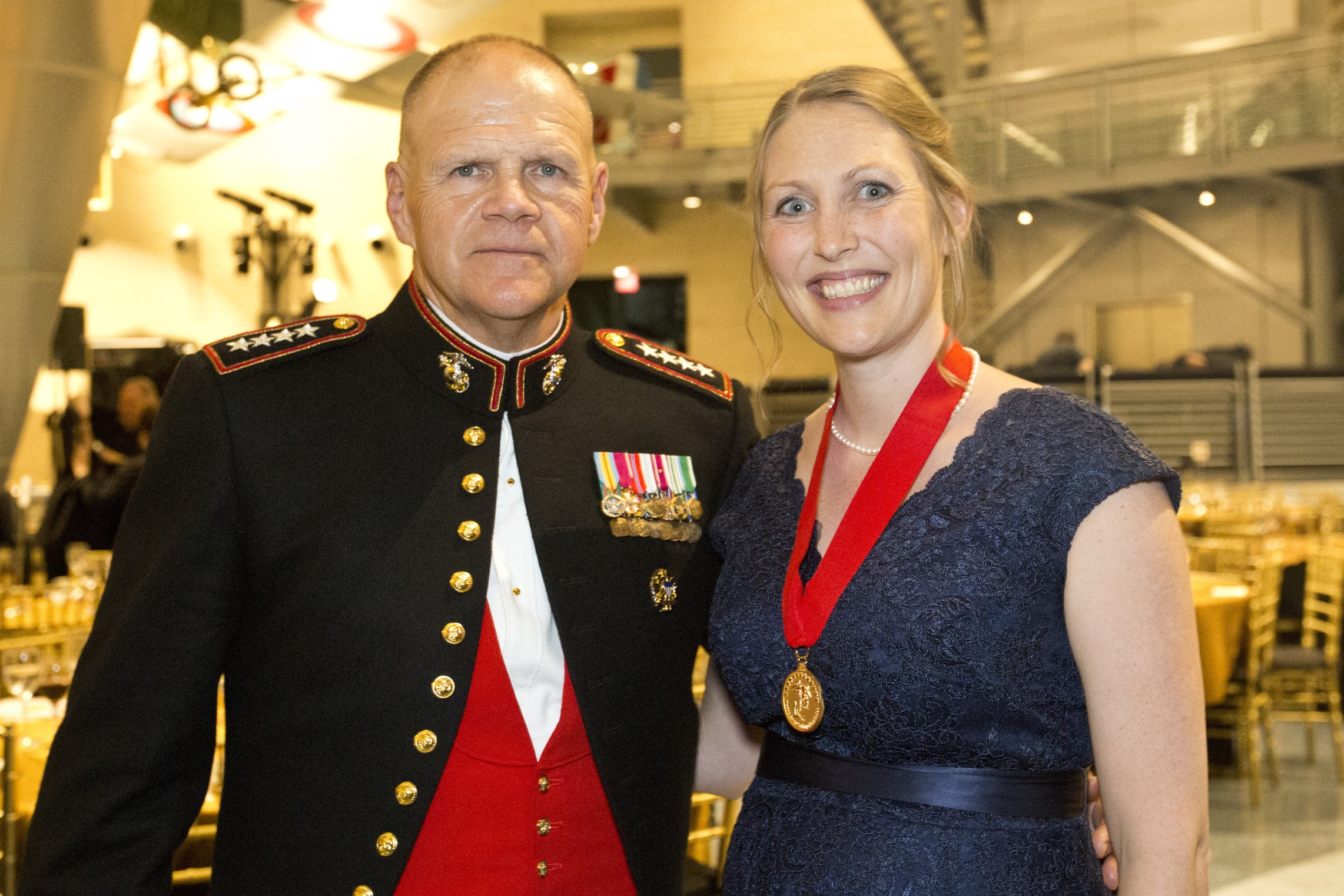 General Robert B. Neller, USMC and Mardie Rees