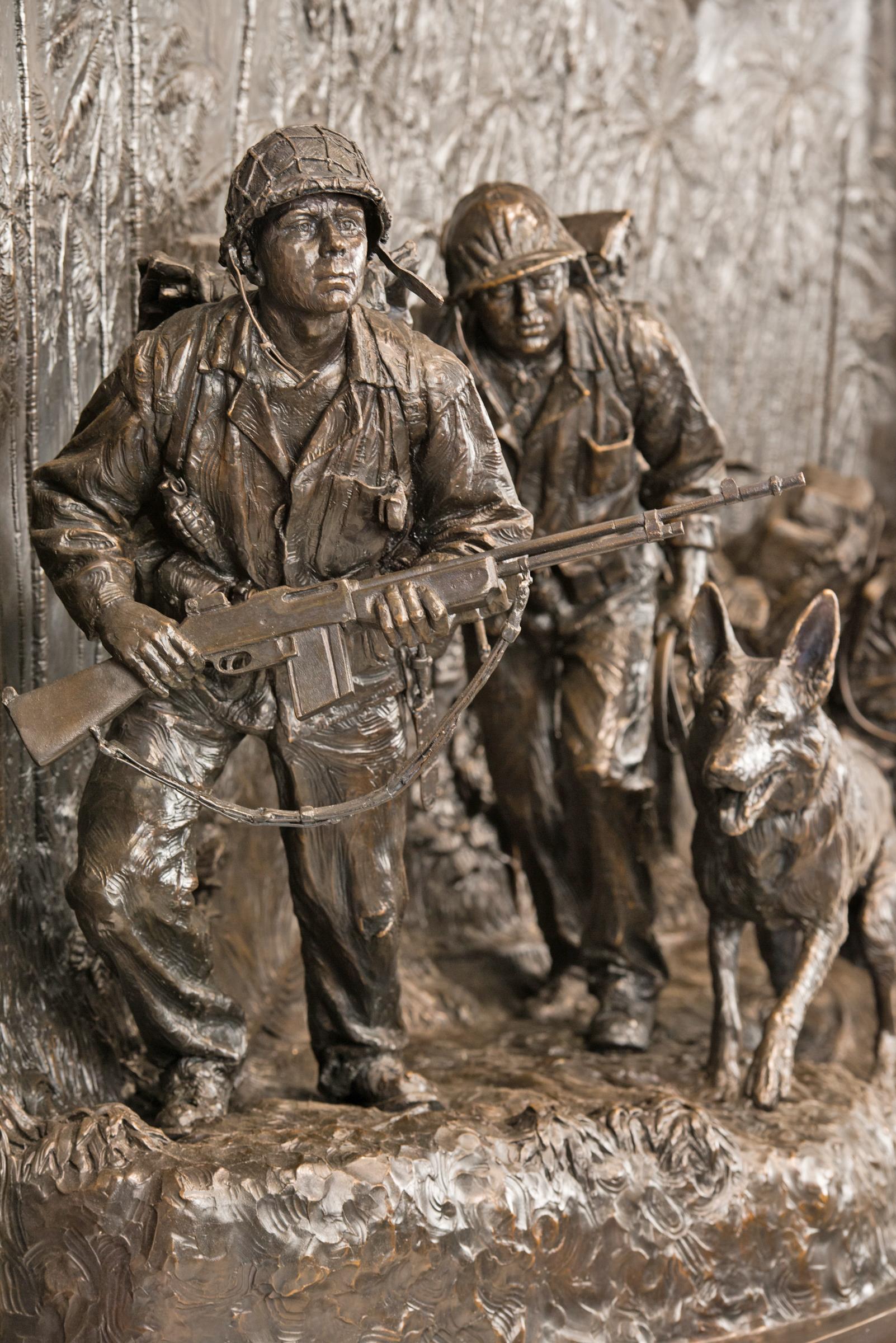 WWII U.S. Marine Raider Memorial
