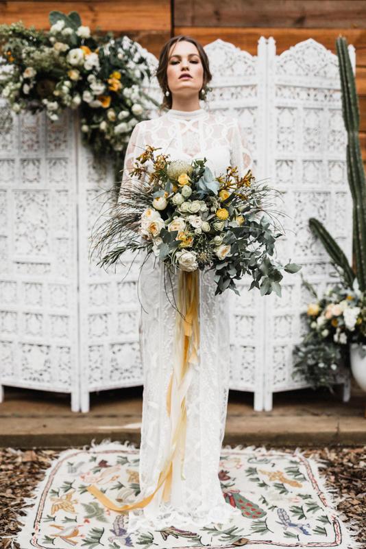 Logwoods Sunshine Coast Cacti wedding inspiration