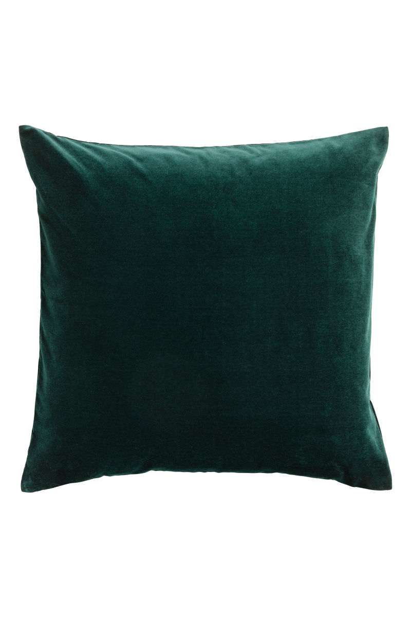 FOREST GREEN CUSHION $10