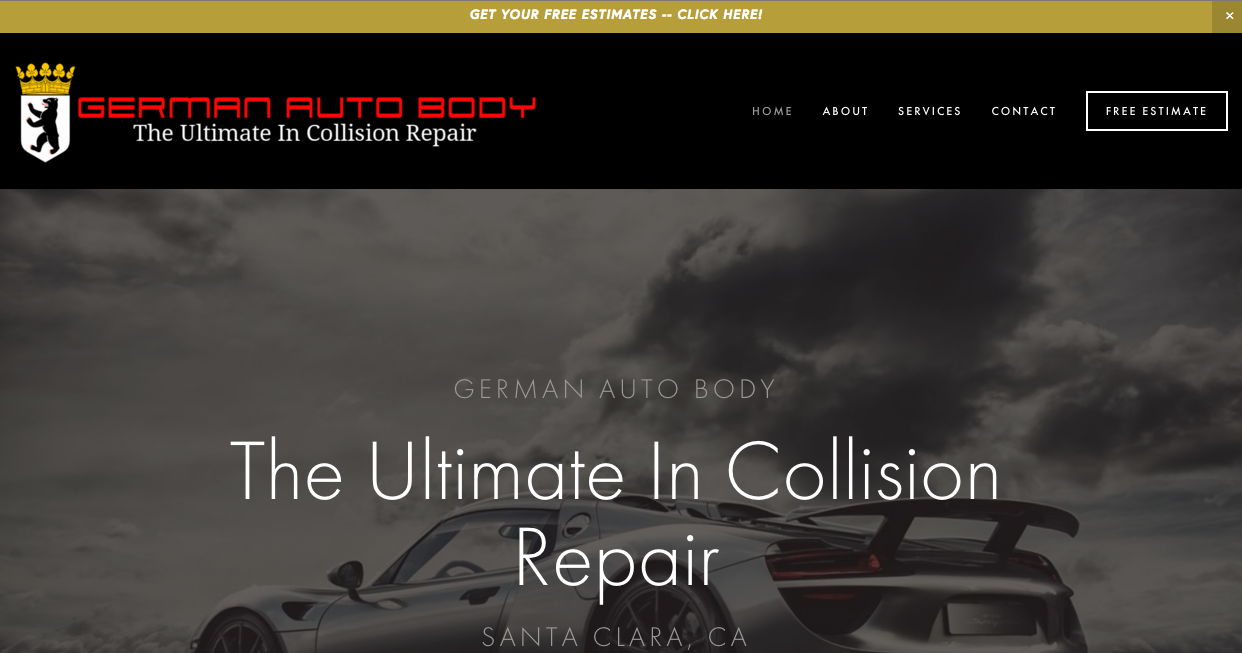 German Auto Body is a collision center, located Santa Clara, California. They are the only Auto Body Association Certified Trusted Shop in their local area. We created their brand new look and much-needed mobile-friendly responsive design.