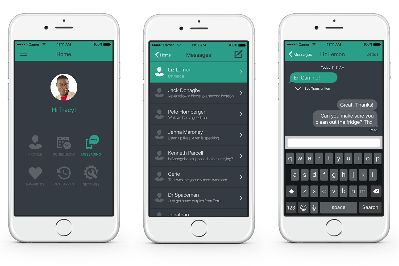 Messaging Screens