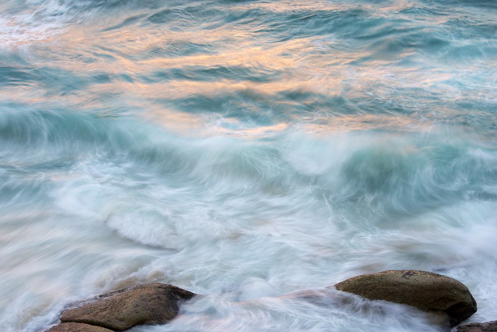 Tamarama - late afternoon light on the waves