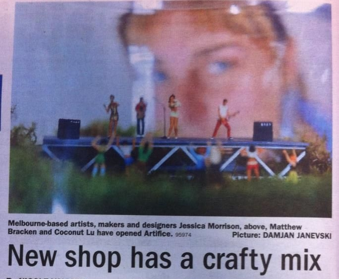 Herald Sun April 2013
