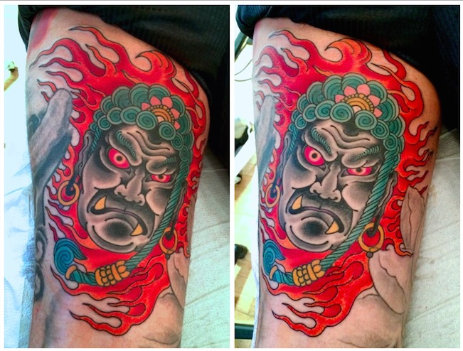 Tattoo by Chris O'Donnell 2014