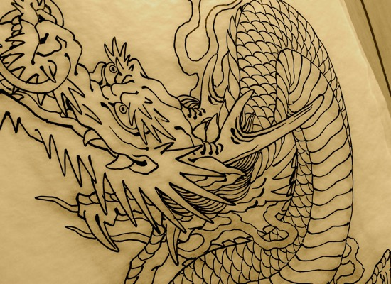 Tattoo drawings by Chris O'Donnell 2015