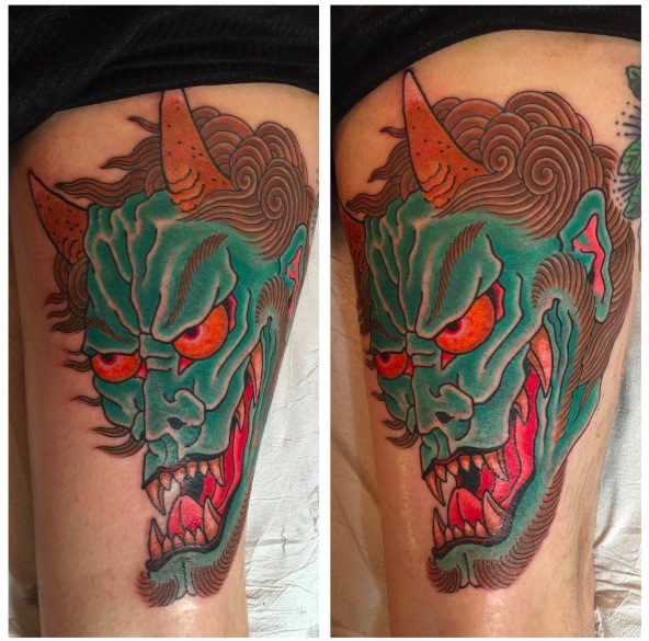 Tattoo by Chris O'Donnell 2015