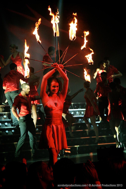 Iceland Fire Dance