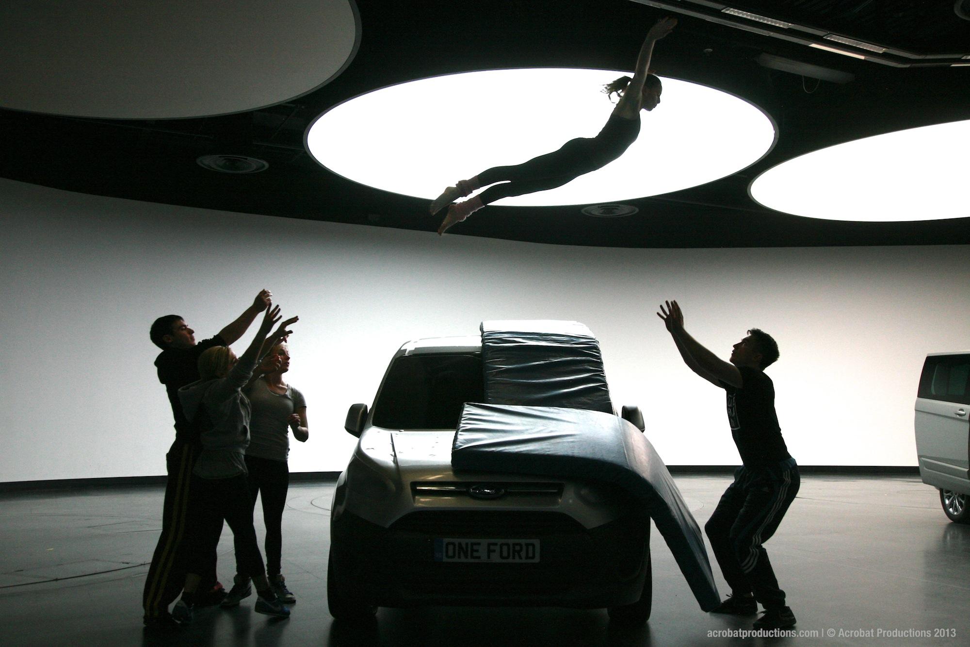 Acrobat Productions at Geneva Motor Show