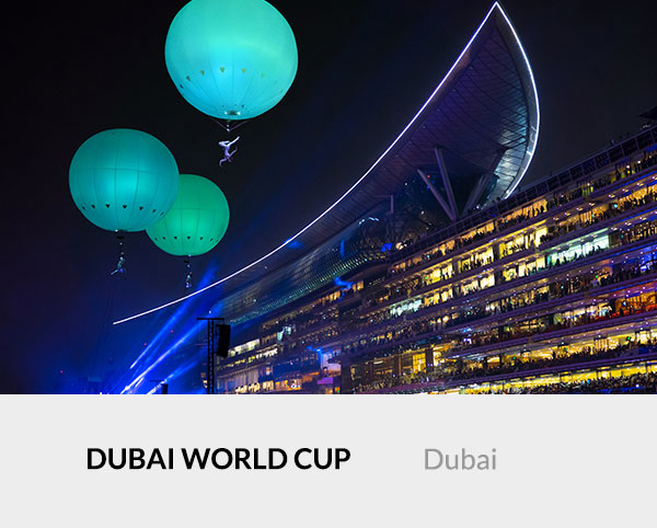 Heliosphere at Dubai World Cup 2018