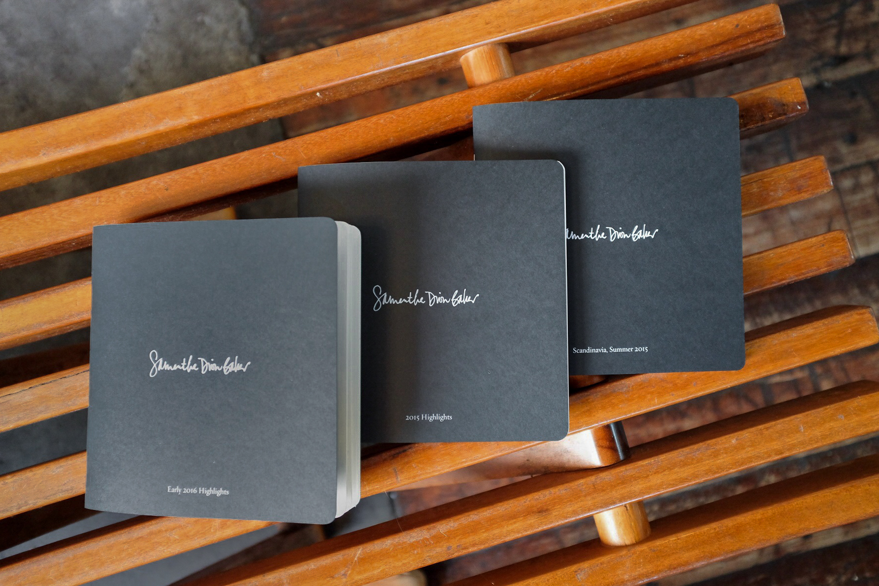 Sketch Journal 3-Book Series | $120