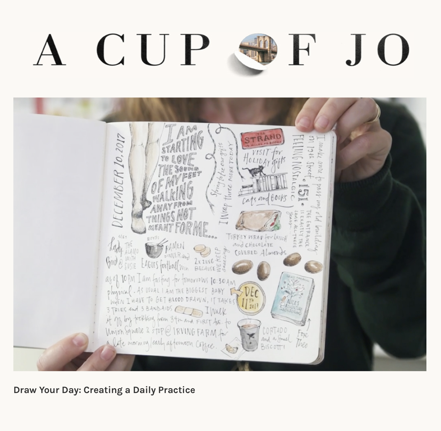 Cup of Joe/ Skillshare class