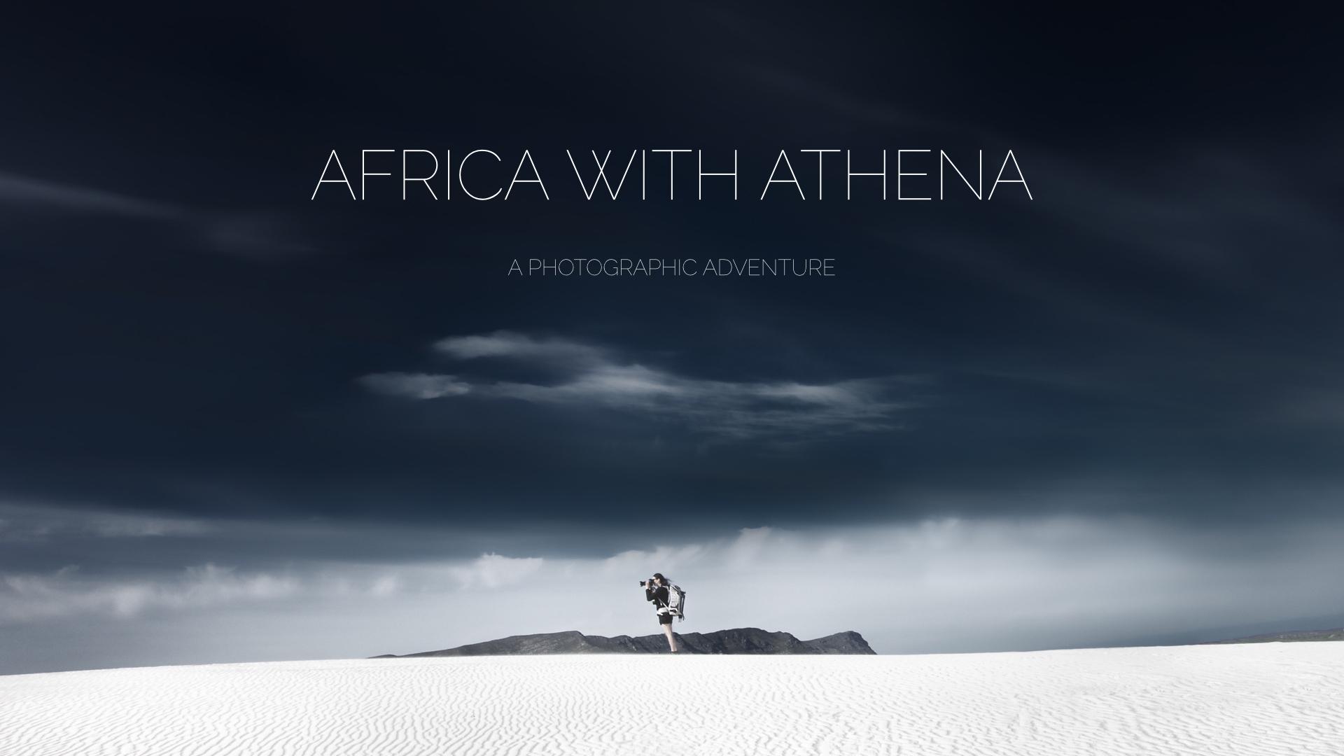 Africa with Athena - Athena Carey